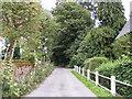 TM2363 : Church Lane, Earl Soham by Adrian Cable