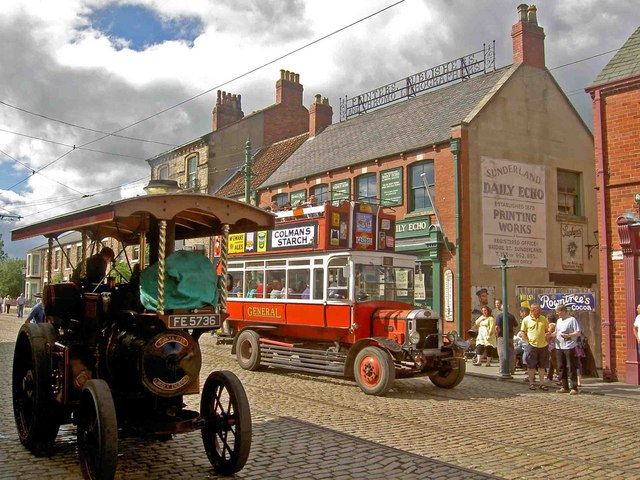 Beamish Town centre