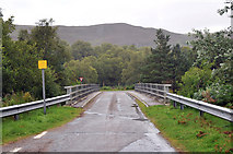 NH4891 : Bridge over River Carron by Steven Brown