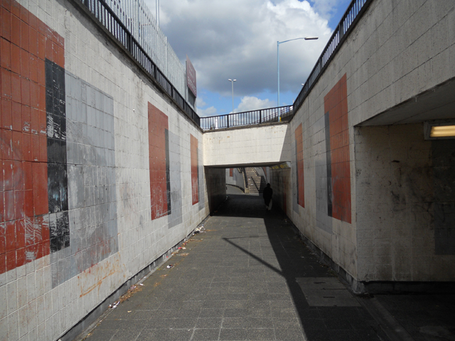 Hockley Circus pedestrian subway