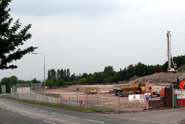 Former Lilleshall Factory Site at Snedshill, Oakengates