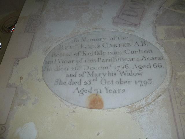 St Peter, Sibton- memorial (1)