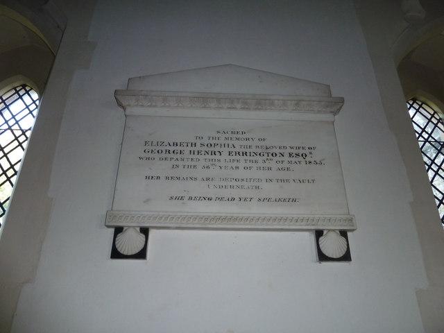 St Peter, Sibton- memorial (3)