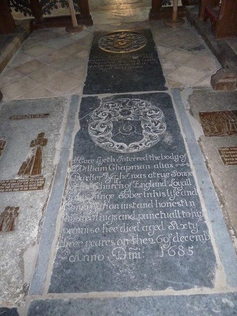 St Peter, Sibton- floor memorial (2)