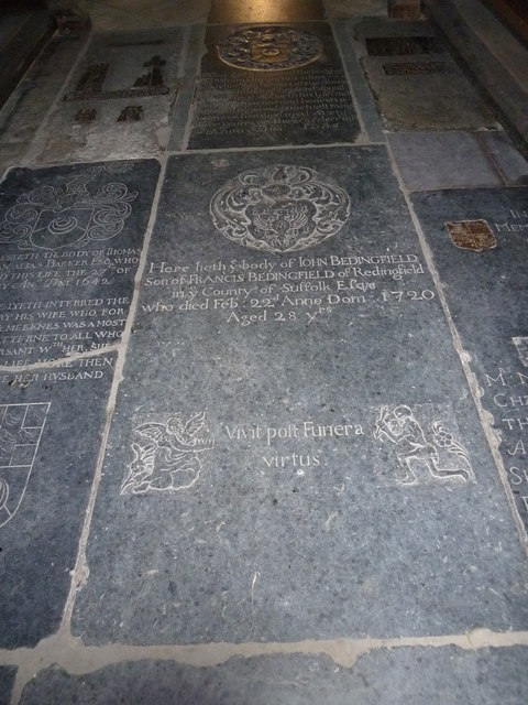 St Peter, Sibton- floor memorial (3)