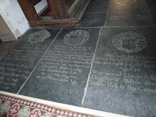 St Peter, Sibton- floor memorial (4)