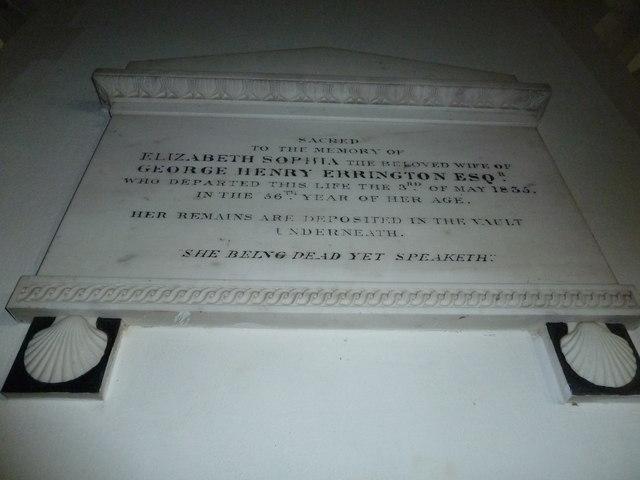 St Peter, Sibton- memorial (4)