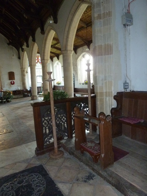 St Peter, Sibton- arches