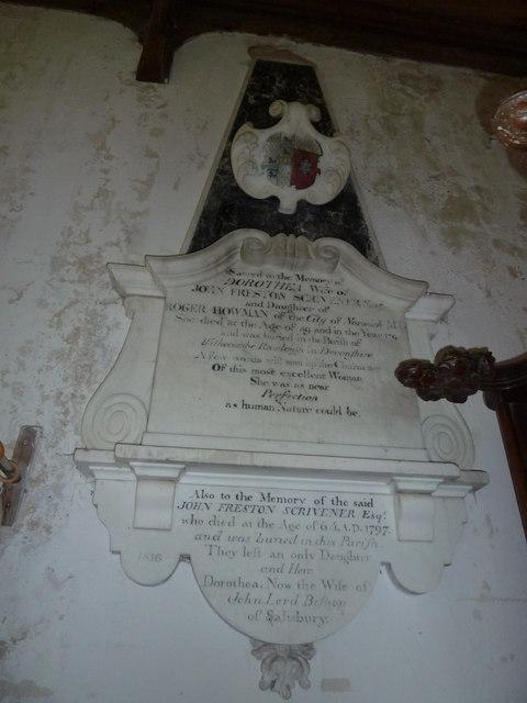 St Peter, Sibton- memorial (5)
