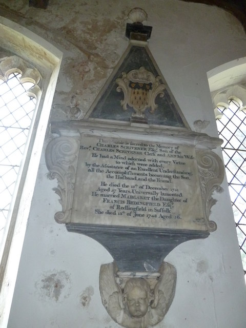 St Peter, Sibton- memorial (8)
