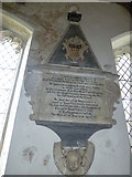 TM3669 : St Peter, Sibton- memorial (8) by Basher Eyre