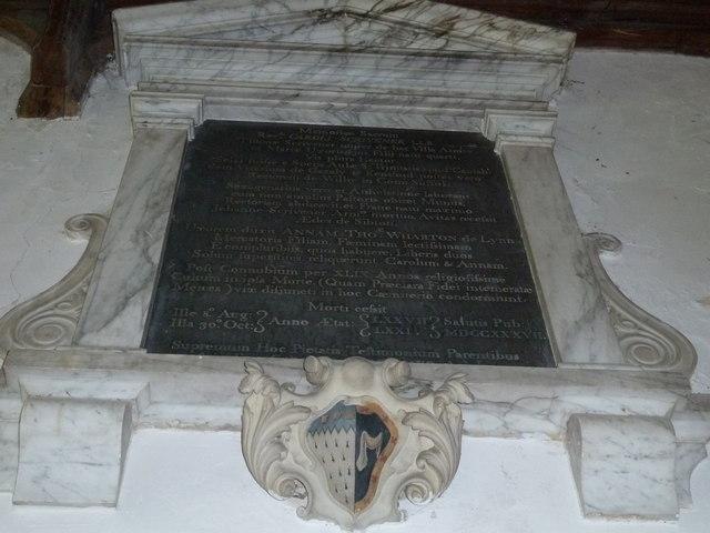 St Peter, Sibton- memorial (10)