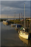 TA0623 : Evening High Tide at Barrow Haven by David Wright