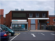 SP2871 : Rear of Somerfield store, 18-24 The Square, Kenilworth by John Brightley