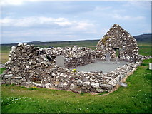 NG2261 : Trumpan Church, Waternish Peninsula, Isle of Skye, Highland by Graham Hogg