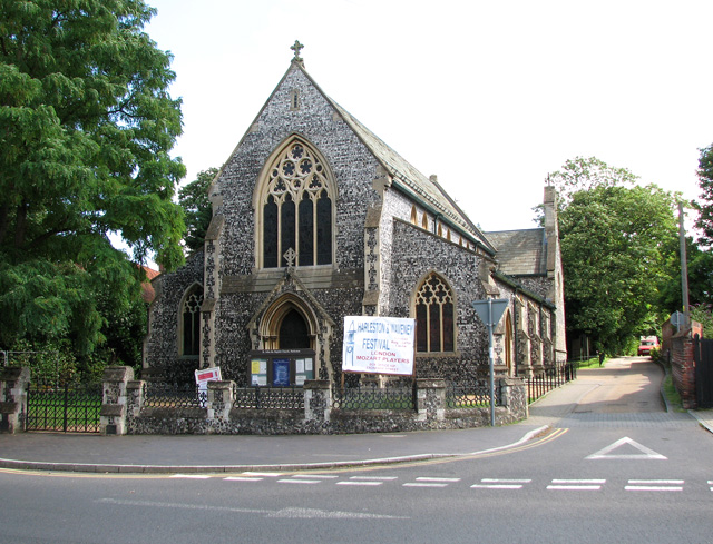 St John the Baptist's church in Harleston
