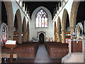 TM2483 : St John the Baptist's church in Harleston - view west by Evelyn Simak