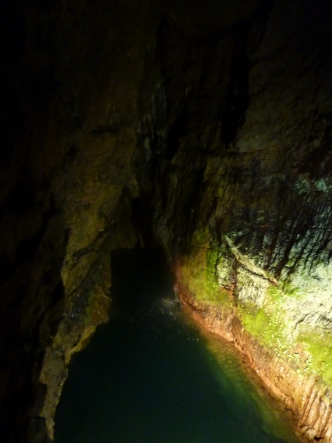 River Axe within Wookey Hole Caves