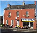R5756 : Bike shop, O'Connell Avenue, Limerick by David Hawgood