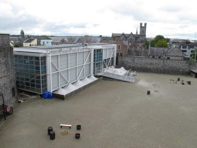 Visitor centre at King John's Castle, Limerick