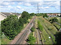 NZ3563 : Railway lines, South Shields by Alex McGregor