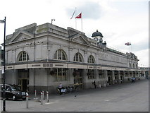 ST1875 : Cardiff Central railway station by Richard Rogerson