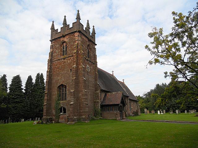 Adbaston church dedicated to St Michael & All Angels