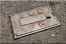 J2764 : Fire hydrant cover, Lisburn by Albert Bridge