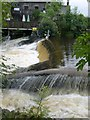 SD4798 : Staveley Wood Turning Weir by Derek Harper