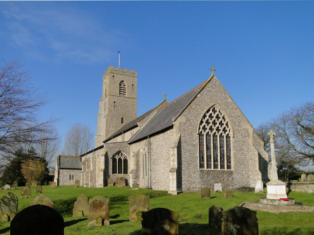 Hindringham St Martin's church