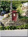 SX0586 : Georgian postbox at Trebarwith by Richard Law