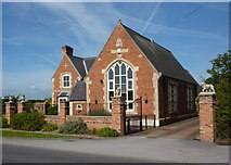 SK6889 : Former school, Mattersey by Andrew Hill