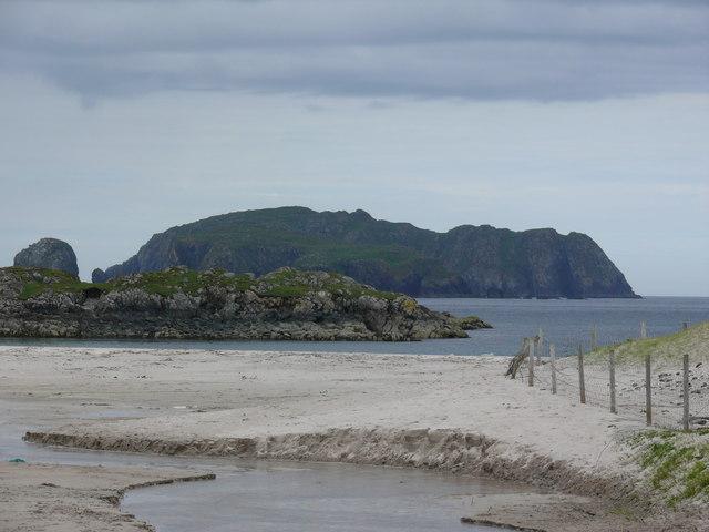 View from Bostadh beach