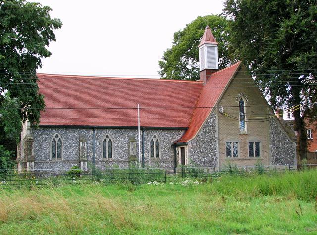 Holy Trinity church in Hempton