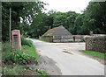 TF7932 : Lane through the hamlet of Bagthorpe by Evelyn Simak