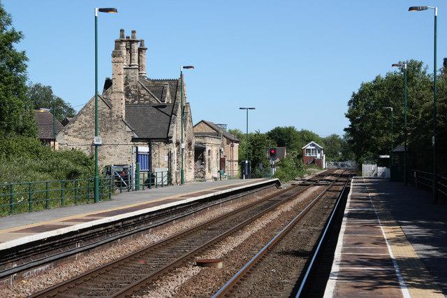 Saxilby Station