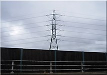 TQ0562 : Pylon by the M25 by N Chadwick