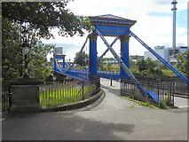 NS5964 : St Andrew's Suspension Bridge by David Dixon