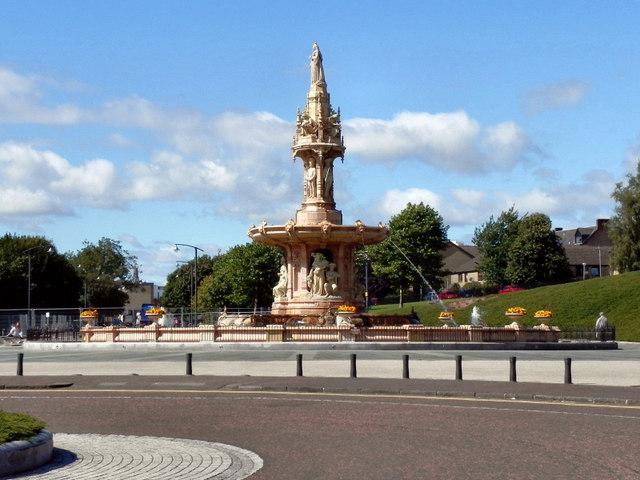 The Doulton Fountain, Glasgow Green