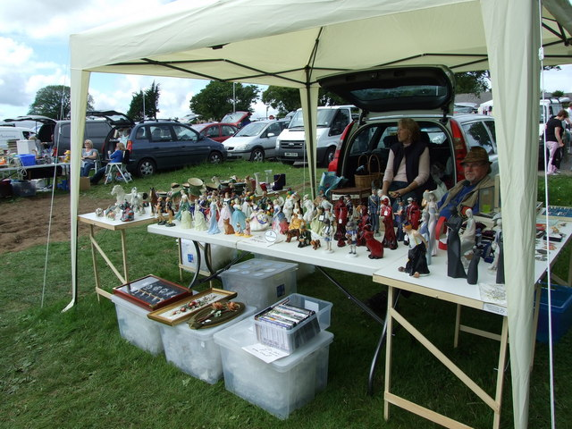 Car boot sale at the grandstand