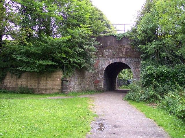 Railway bridge in Stadt Moer Country Park