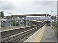 TQ4072 : Grove Park railway station: platforms by Stephen Craven