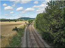SO4386 : The line to Ludlow by Row17