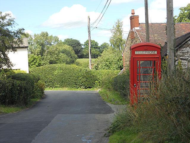 The village telephone box