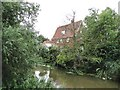 TM3056 : House by the side of the River Deben by Adrian S Pye