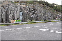 NM7682 : Junction of the A861 and A830 at Lochailort by Steven Brown