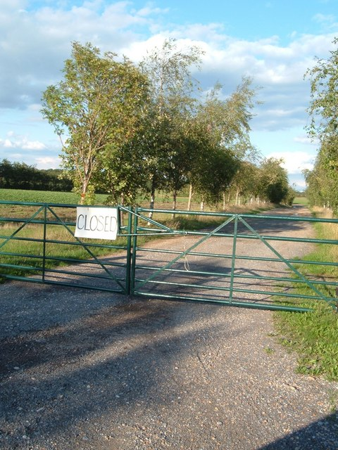 Entrance to the pick your own farm.
