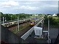 NS5364 : Cardonald railway station by Thomas Nugent