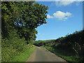 SO5788 : Lane near Earnstrey Hall by Row17