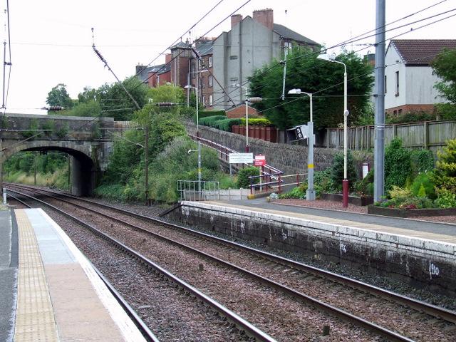 Johnstone railway station